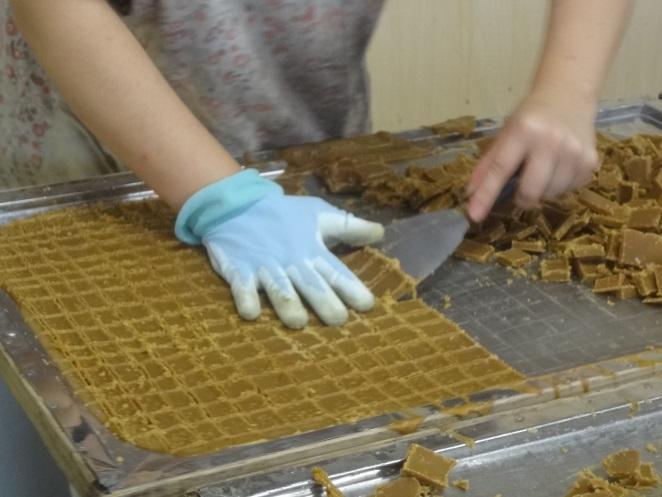 黒糖の製造工程